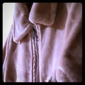 Womens faux fur jacket